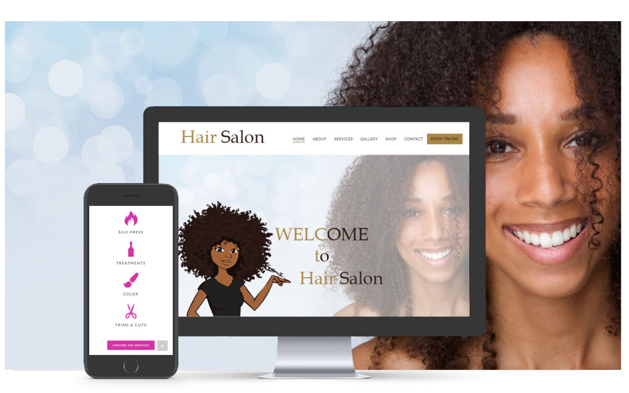 Hair Salon 1.2 web development