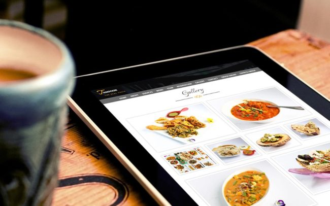 Restaurant Tandoor 4.2 1024 web development